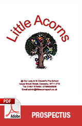 Little Acorns Brochure